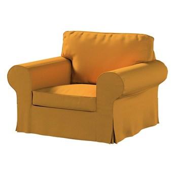 Pokrowiec na fotel Ektorp, miodowy szenil, 103 x 82 x 73 cm, Living