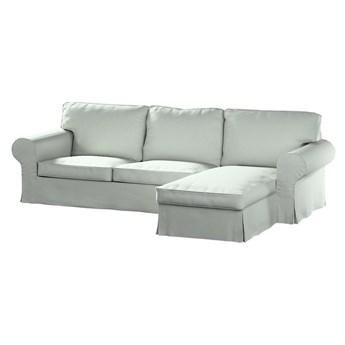 Pokrowiec na sofę Ektorp 2-osobową i leżankę, szara plecionka, 252 x 163 x 88 cm, Living