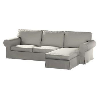 Pokrowiec na sofę Ektorp 2-osobową i leżankę, jasny szary, 252 x 163 x 88 cm, Living
