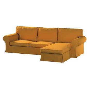 Pokrowiec na sofę Ektorp 2-osobową i leżankę, miodowy szenil, 252 x 163 x 88 cm, Living