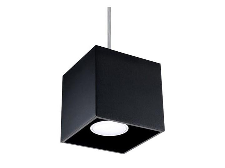 Lampa Wisząca QUAD 1 Czarny Lampa z kloszem Funkcje Brak dodatkowych funkcji