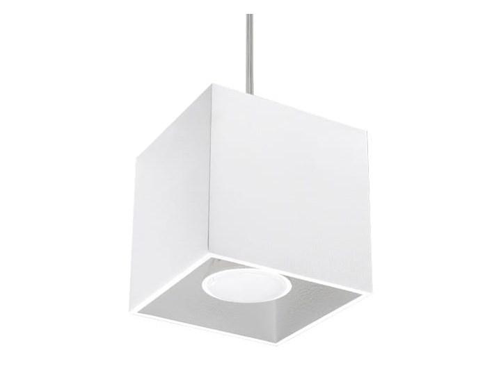 Lampa Wisząca QUAD 1 Biały Lampa z kloszem Funkcje Brak dodatkowych funkcji