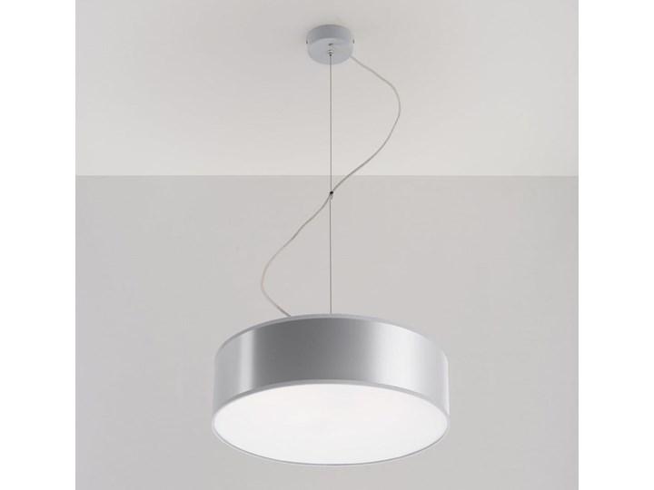 Lampa Wisząca ARENA 35 Szara Lampa z kloszem Kategoria Lampy wiszące