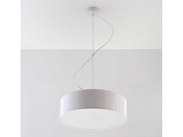 Lampa Wisząca ARENA 35 Biała Lampa z kloszem Kolor Biały Funkcje Brak dodatkowych funkcji
