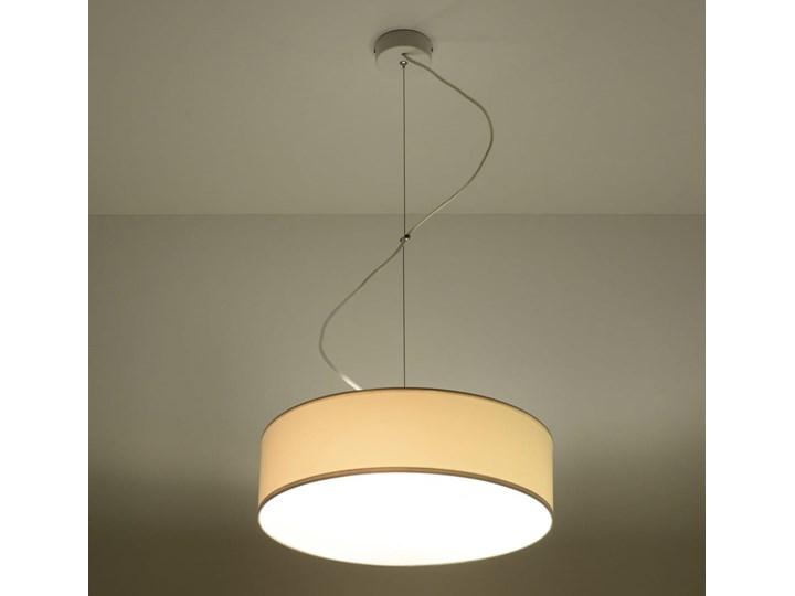 Lampa Wisząca ARENA 35 Biała Lampa z kloszem Kolor Biały