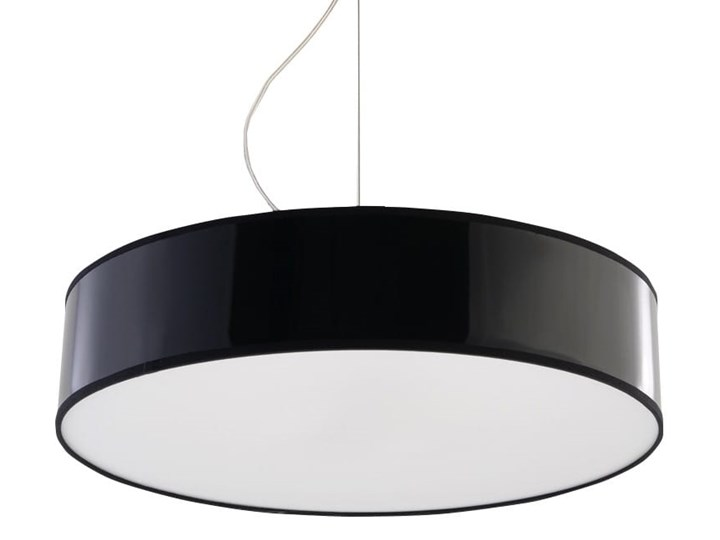 Lampa Wisząca ARENA 45 Czarna Lampa z kloszem Kolor Czarny Funkcje Brak dodatkowych funkcji