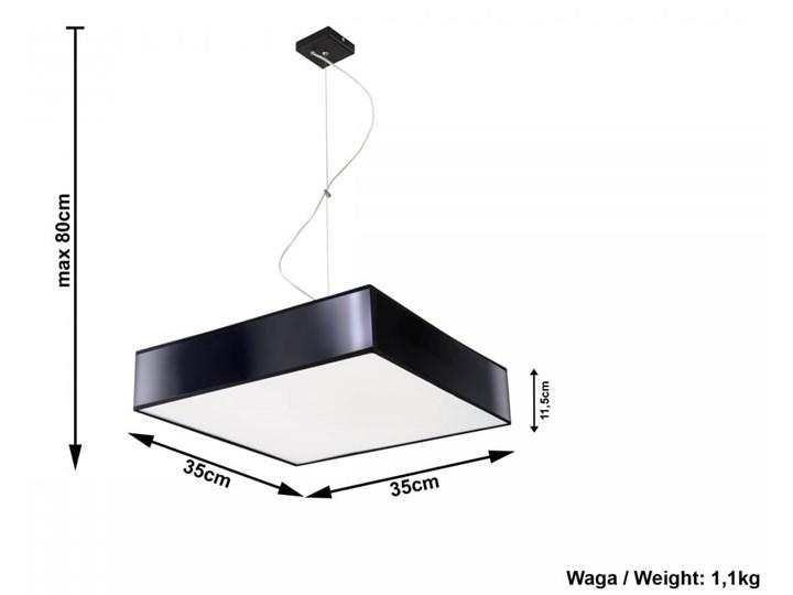 Lampa Wisząca HORUS 35 Czarny Lampa z kloszem Funkcje Brak dodatkowych funkcji Kategoria Lampy wiszące