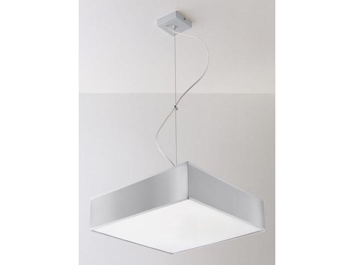 Lampa Wisząca HORUS 35 Szary Lampa z kloszem Funkcje Brak dodatkowych funkcji