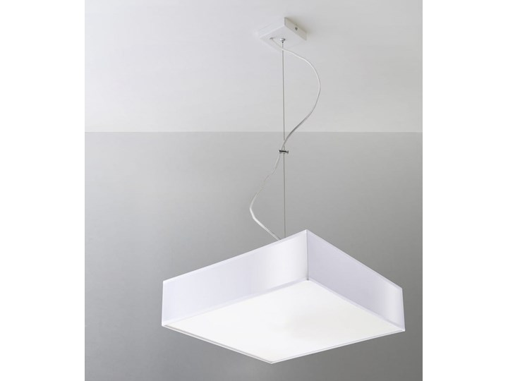 Lampa Wisząca HORUS 35 Biały Lampa z kloszem Funkcje Brak dodatkowych funkcji