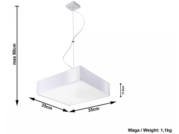 Lampa Wisząca HORUS 35 Biały Lampa z kloszem Funkcje Brak dodatkowych funkcji Kategoria Lampy wiszące