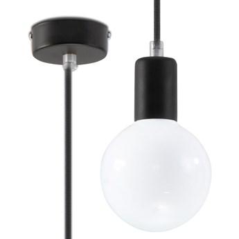 Lampa Wisząca EDISON Czarna