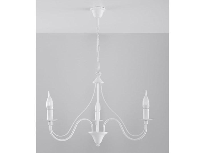 Żyrandol MINERWA 3 Biały Stal Metal Kategoria Lampy wiszące