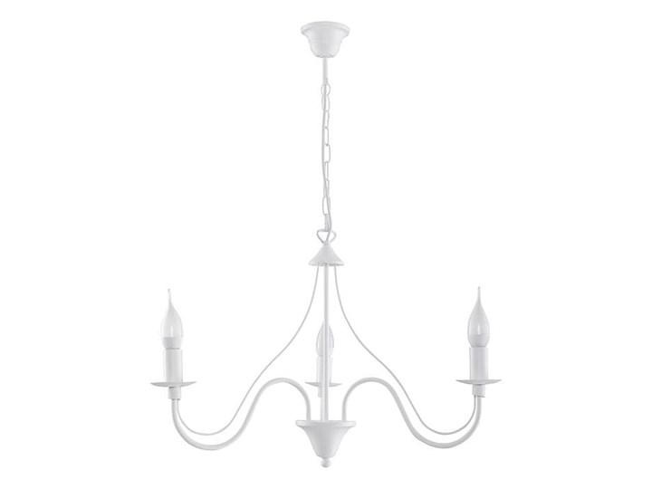 Żyrandol MINERWA 3 Biały Metal Stal Kategoria Lampy wiszące
