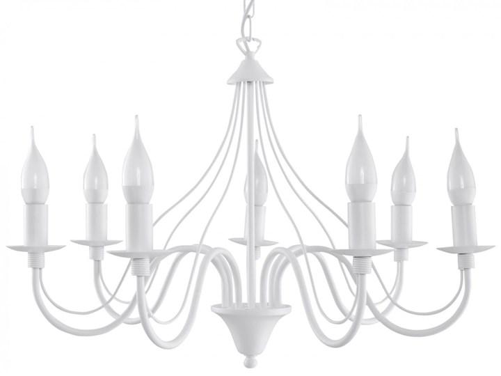 Żyrandol MINERWA 7 Biały Metal Stal Kategoria Lampy wiszące