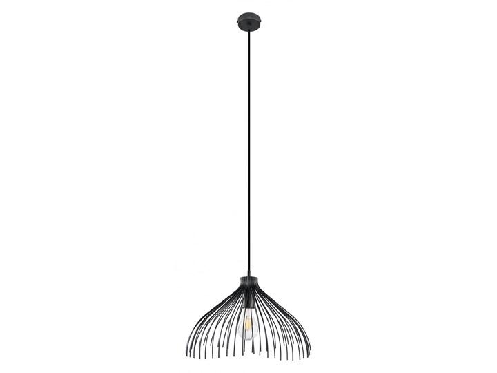 Lampa wisząca UMB czarny Metal Stal Lampa z kloszem Kategoria Lampy wiszące