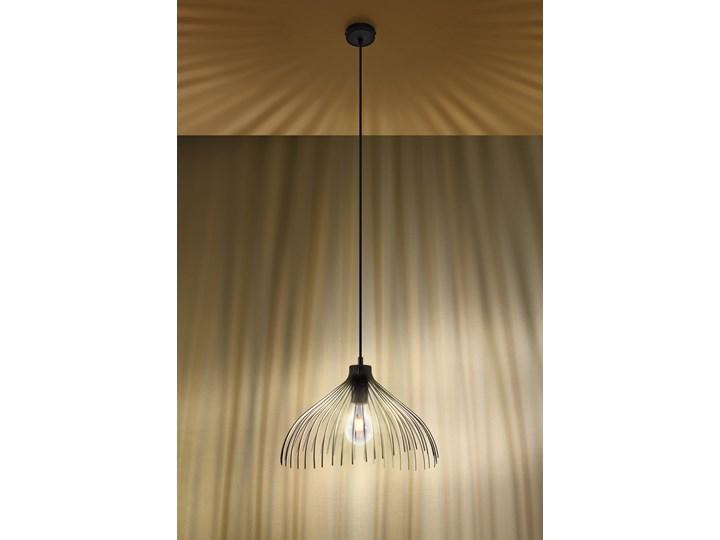 Lampa wisząca UMB czarny Stal Lampa z kloszem Metal Kategoria Lampy wiszące