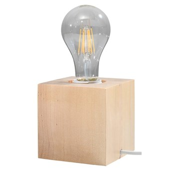 Lampa biurkowa ARIZ naturalne drewno