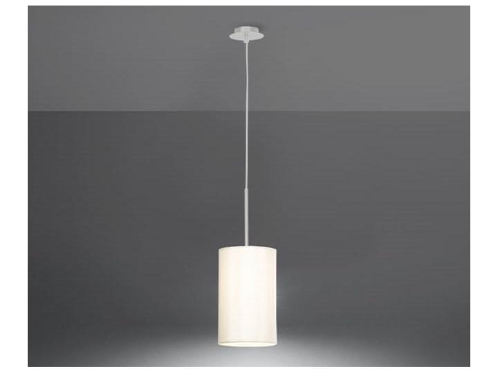 Żyrandol OTTO 15 biały Tkanina Szkło Lampa z kloszem Metal Stal Kategoria Lampy wiszące