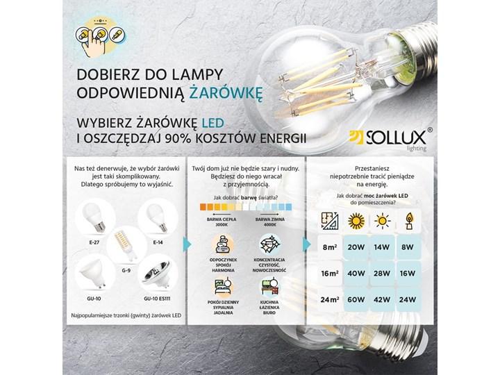 Żyrandol SANTA BIS 80 czarny Metal Tkanina Stal Lampa z kloszem Kategoria Lampy wiszące