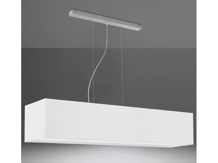 Żyrandol SANTA 120 biały Lampa z kloszem Metal Stal Tkanina Kategoria Lampy wiszące