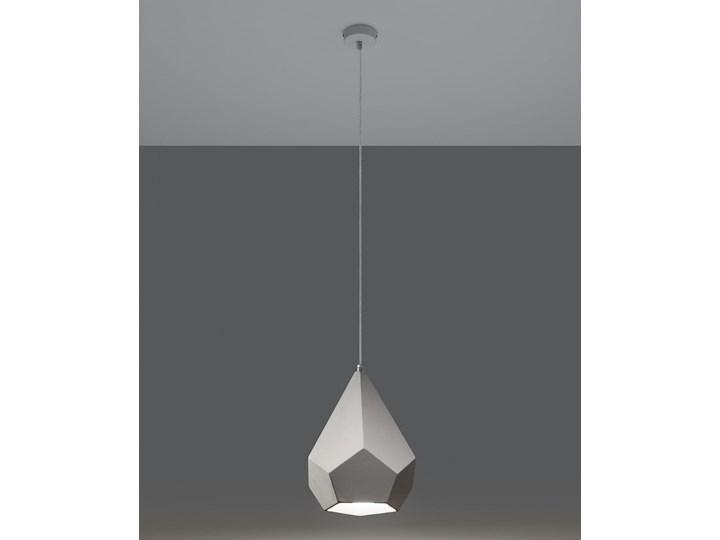 Lampa wisząca ceramiczna PAVLUS Lampa z kloszem Kategoria Lampy wiszące Ceramika Kolor Biały