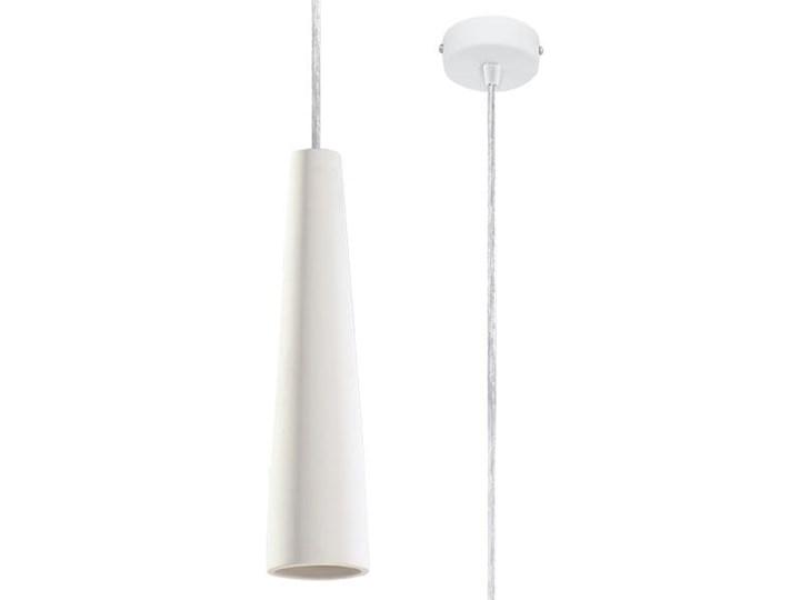 Lampa wisząca ceramiczna ELECTRA Kategoria Lampy wiszące Ceramika Lampa z kloszem Kolor Biały