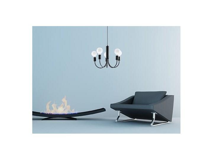 Żyrandol PICCOLO 5 czarny Metal Stal Kategoria Lampy wiszące