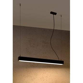 Lampa wisząca PINNE 67 czarna 3000K