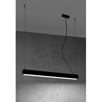 Lampa wisząca PINNE 67 czarna 4000K