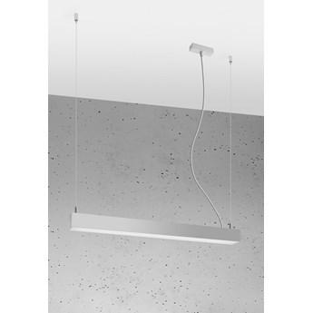 Lampa wisząca PINNE 67 szara 4000K