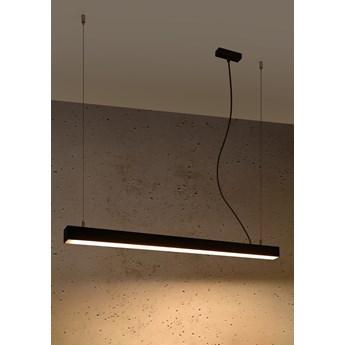 Lampa wisząca PINNE 90 czarna 3000K