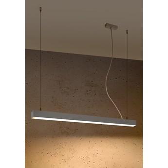 Lampa wisząca PINNE 90 szara 3000K