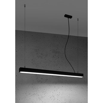 Lampa wisząca PINNE 90 czarna 4000K