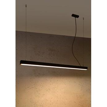 Lampa wisząca PINNE 117 czarna 3000K