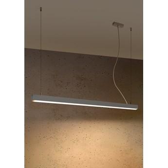Lampa wisząca PINNE 117 szara 3000K