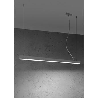 Lampa wisząca PINNE 117 szara 4000K