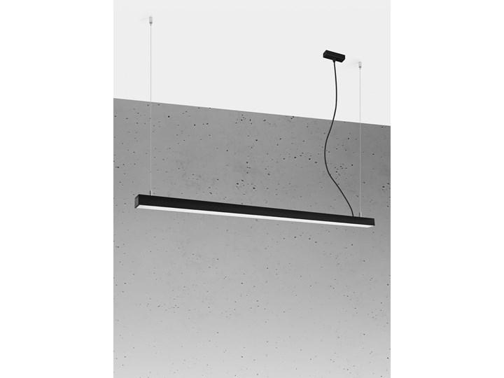 Lampa wisząca PINNE 150 czarna 3000K Kolor Czarny