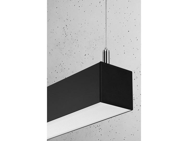 Lampa wisząca PINNE 150 czarna 3000K Kolor Czarny Kategoria Lampy wiszące
