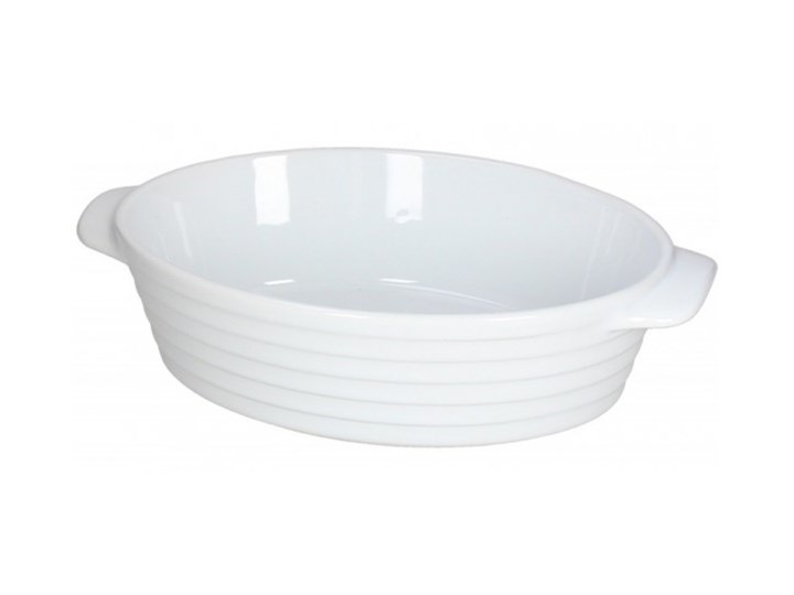 Naczynie do zapiekania Tognana Rings 28,3 x 17,8 cm Ceramika Kategoria Naczynia do zapiekania Kolor Biały