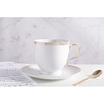 Filiżanka do cappuccino ze spodkiem porcelana MariaPaula Promise 350 ml, opakowanie prezentowe