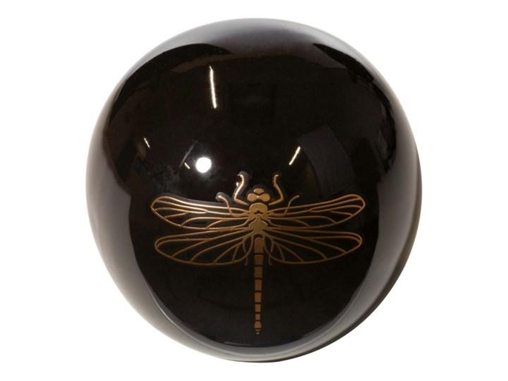 Kula dekoracyjna 270c1 Kategoria Figury i rzeźby Ceramika Kolor Czarny
