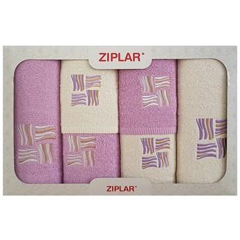 Komplet ręczników 6-częściowy KRZ6-059