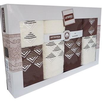 Komplet ręczników 6-częściowy KRZC6-30