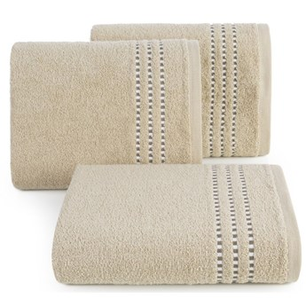 Ręcznik bawełniany beżowy R147-04