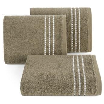 Ręcznik bawełniany jasnobrązowy R147-05