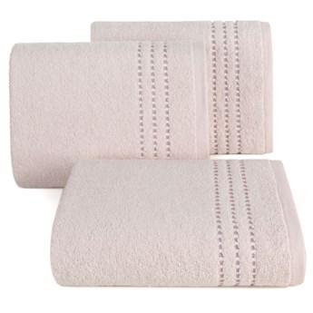Ręcznik bawełniany jasnoróżowy R147-07