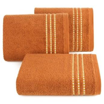 Ręcznik bawełniany ceglasty R147-09