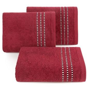 Ręcznik bawełniany czerwony R147-16