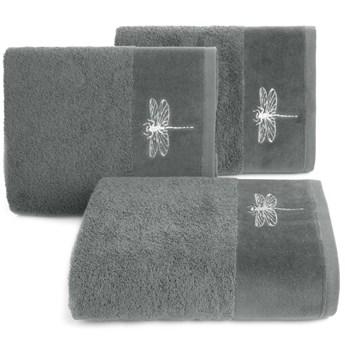 Ręcznik bawełniany stalowy R148-05