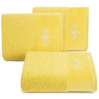 Ręcznik bawełniany musztardowy R148-08